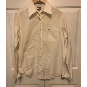 Tommy Hilfiger Women's Long Sleeve Button Down